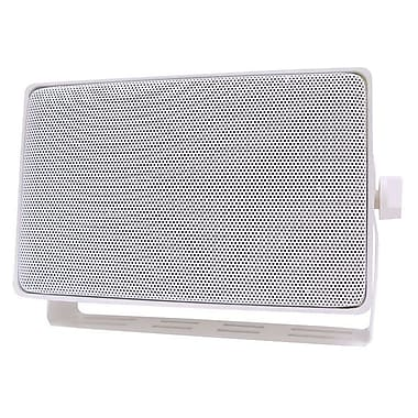 Speco Technologies® DMS-3TSW White Indoor/Outdoor All-Purpose Speaker With Transformer