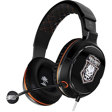 Turtle Beach® Call of Duty® Black OPS II Ear Force Sierra Limited Edition Headset, Black
