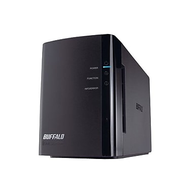 Buffalo® LinkStation™ Duo LS-WX4.0TL/R1 2-Drive 4TB RAID Network Attached Storage Server