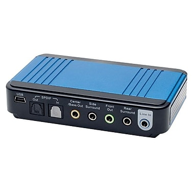 Syba™ SD-AUD20040 Magic Sound Box For Desktop/Laptop PC, Blue