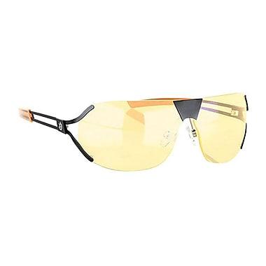 GUNNAR Steel Series Desmo Advanced Gaming Eyewear, Onyx Orange