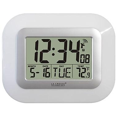La Crosse Technology WT-8005U-W Atomic Digital Clock with temperature - White