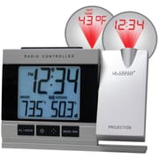 La Crosse Technology WT-5220U-IT-CBP Digital Wall/Ceiling Clock, White