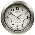 La Crosse Technology® 18in. Indoor/Outdoor Thermometer & Hygrometer Wall Clock