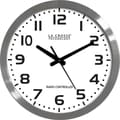 La Crosse Technology® 16in. Stainless Steel Atomic Clock, White