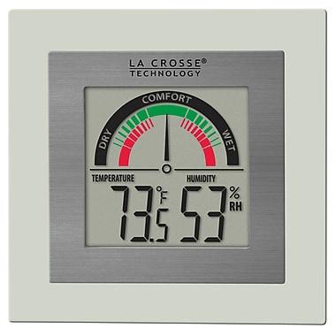 La Crosse Technology WT-137U Indoor Comfort Meter with Temp and Humidity