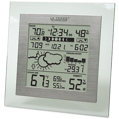 La Crosse Technology WS-9257U-IT Digital Wireless Weather Station with Forecaster, Clear