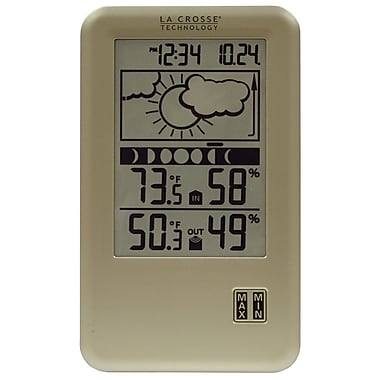 La Crosse Technology WS-9060U-IT Wireless Forecast Station with Moon Phase