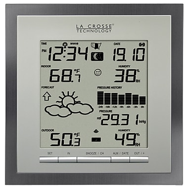 La Crosse Technology WS-9049U-IT-AL Wireless Forecast Station with Pressure History