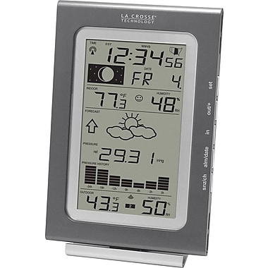 La Crosse Technology WS-9037U-IT Wireless Forecast Station with Pressure History