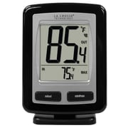 La Crosse Technology® Wireless Temperature Station, Black