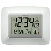 La Crosse Technology® Atomic Digital Clock With Temperature, White