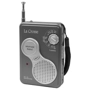 La Crosse Technology® 809905 AM/FM Handheld NOAA Weather Radio