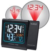 La Crosse Technology 616-146 Plastic Digital Wall/Ceiling Clock, Black