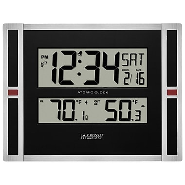 La Crosse Technology 513-149 Atomic Digital Clock with temperature