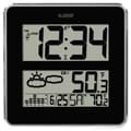 La Crosse Technology® Atomic Digital Wall Clock With Weather Forecast