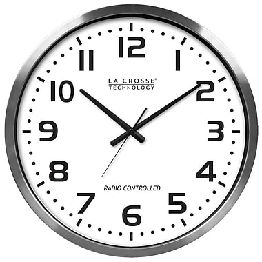 La Crosse Technology® 20in. Atomic Analog Clock