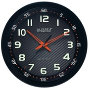 La Crosse Technology® 10 WWVB Chapter Ring Wall Analog Clock, Black