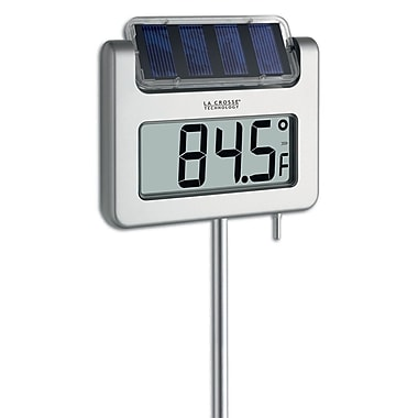 La Crosse Technology® SolarPowered Garden Thermometer