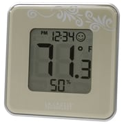 La Crosse Technology 302-604S Indoor Temperature & Humidity Station, Silver