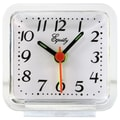 Equity by La Crosse™ Analog Alarm Clock, Clear