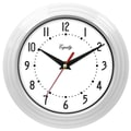 Equity by La Crosse™ 8in. Wall Clock, White