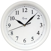 Equity by La Crosse™ 10 Wall Clock, White