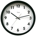 Equity by La Crosse™ 14in. Commercial Analog Wall Clock, Black