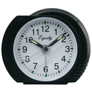 Equity by La Crosse™ Analog Alarm Clock, Black
