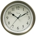 Equity by La Crosse™ 8in. Metal Wall Clock