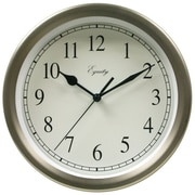 Equity by La Crosse™ 8 Metal Wall Clock