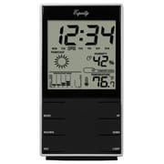 Equity by La Crosse™ Desktop Temperature Station With Time Alarm and Snooze