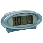 Equity By La Crosse 30330 Plastic Digital Alarm Clock, Blue