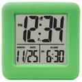 Equity by La Crosse™ Soft Cube LCD Alarm Clock, Green
