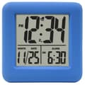 Equity by La Crosse™ Soft Cube LCD Alarm Clock, Blue