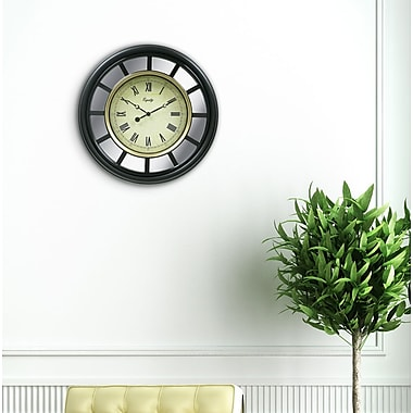 Equity by La Crosse 82009 22 Inch Mirror clock