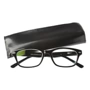 Computer Eyed Vintage +2.50 Optic Computer Reading Glasses, Black