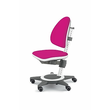 Moll® Champion Kids Maximo Adjustable Desk Chair, Magenta