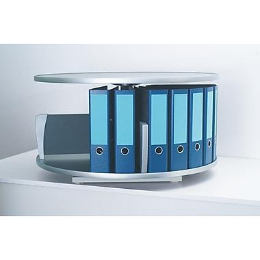 Moll® Deluxe Desktop Binder & File Carousel Shelving, Graphite (DCL-80)