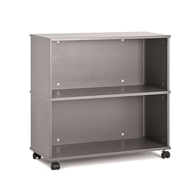 Moll® 32in.W 2-Shelf Picco Mobile Shelves Starter Unit, Graphite