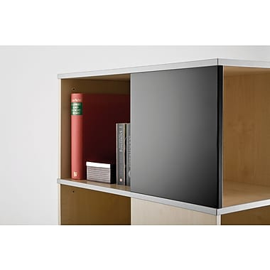 Moll® Magnetic Boards for Cube Binder & File Carousel Shelving, Black (CUBEMB-BK)