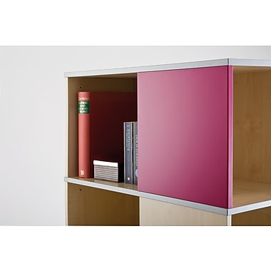 Moll® Magnetic Boards for Cube Binder & File Carousel Shelving, Pink (CUBEMB-PK)