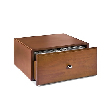 Empire Stack & Style™ Wood Desk Organizers Media Storage Drawers