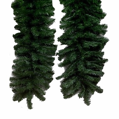 Vickerman 50' x 14in. Unlit Douglas Fir Garland With 1450 PVC Tips