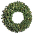 Vickerman 42in. Prelit Douglas Fir Wreath With 370 Tips & 100 Clear Dura-Lit Light, Green