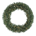 Vickerman 60in. Prelit Douglas Fir Wreath With 900 Tips & 200 Clear Light, Green