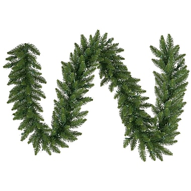 Vickerman 25' x 20in. Unlit Camdon Fir Garland With 900 PVC Tips