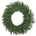 Vickerman 60in. Imperial Pine Wreath With 600 PVC Tips, Green