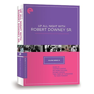 Up All Night with Robert Downey Sr. - Eclipse Series 33 (DVD)