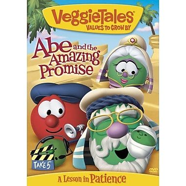 Veggie Tales Abe and the Amazing Promise: A Lesson in Patience (DVD)